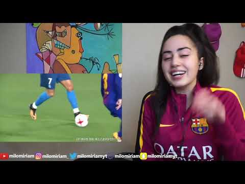 BARCA FAN REACTS TO C.RONALDO TOP 25 GOALS THAT MESSI COULD ONLY DREAM ABOUT | REACTION