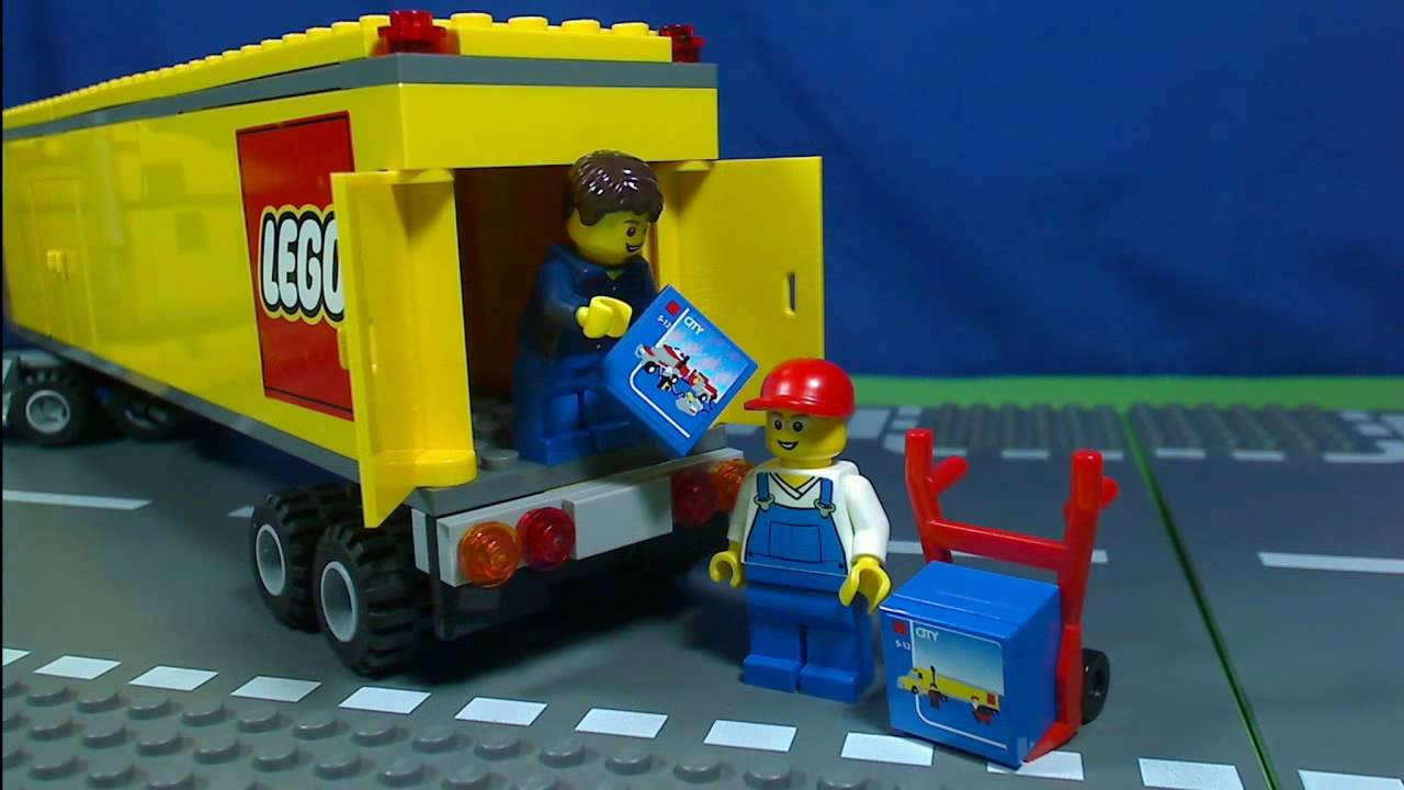 Lego City Truck 3221 Youtube