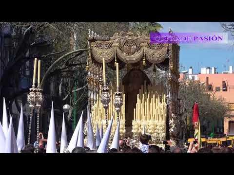 Virgen de los Ángeles (Negritos) por Recaredo (Semana Santa Sevilla 2018)