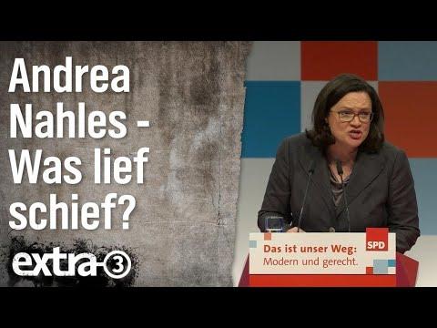 Was lief schief im Leben von Andrea Nahles? | extra 3 | NDR