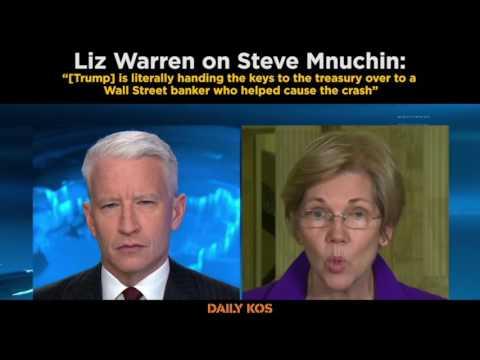 Liz Warren on Steve Mnuchin