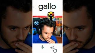 "Descubro QUÉ PASA si escribes ""GALLO"" en el Traductor de Google #Shorts #TheGrefg"