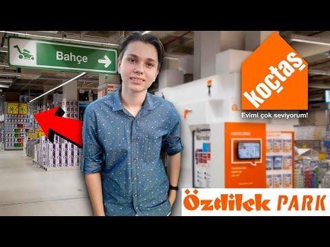 Торговый центр Оздилек - Магазин товаров для дома и ремонта Кочташ - Koçtaş