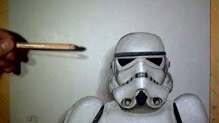 Speed Drawing: Stormtrooper (Star Wars)