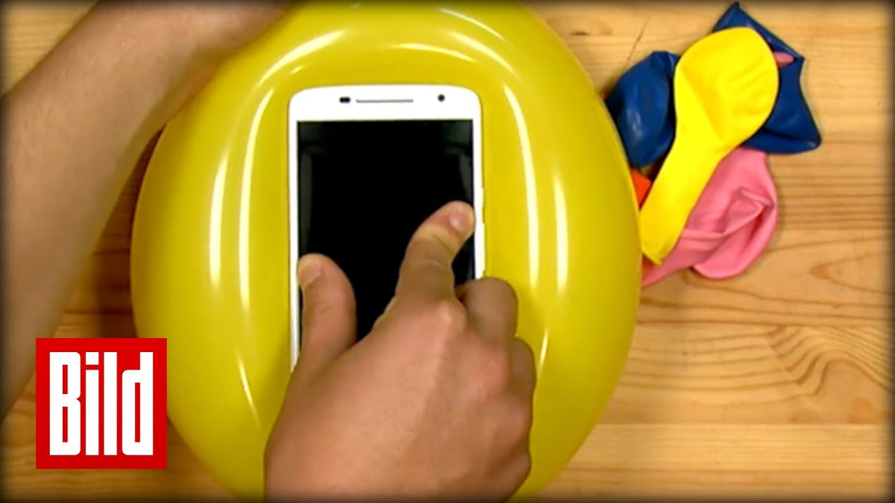 diy handy h lle aus luftballon easy selber machen youtube. Black Bedroom Furniture Sets. Home Design Ideas