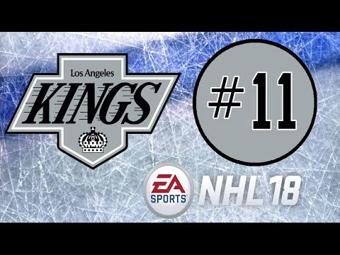 NHL 18 ~ Los Angeles Kings Franchise Mode ~ #11 (Frustring Contract Talks)
