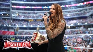 A new WWE Women's Title is revealed: WrestleMania 32 Kickoff