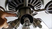Hunter Ceiling Fan 4-Wire Switch Repair - YouTube on