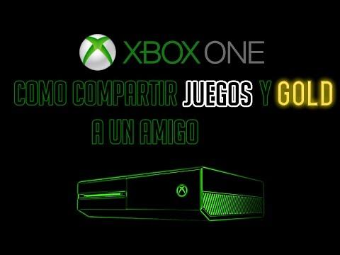 Como pasar juegos digitales, DLCs y Gold a un Amigo | Transferencia licencias Xbox One