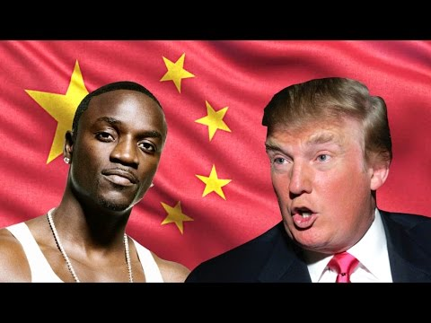 Donald Trump ft. Akon - China (Na Na Na)