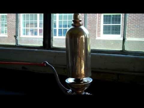 Lombard Steam Log Hauler Lunkenheimer Steam Whistle Test
