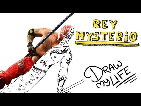 REY MYSTERIO | Draw My Life