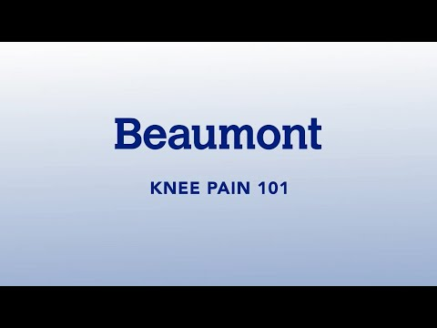 Joint Pain 101 | Knee Pain