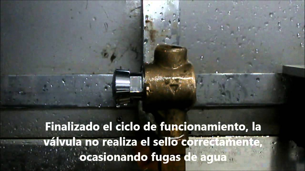 Instalaci n v lvula push temporizada ducha sr youtube for Duchas grival colombia