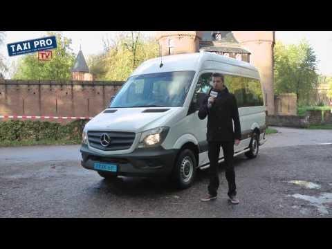 Rijtest Mercedes-Benz Sprinter Combi Euro VI taxibus (TaxiProTV)