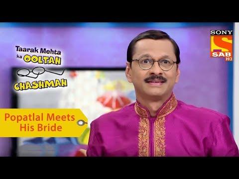 Your Favorite Character   Popatlal Meets His Bride   Taarak Mehta Ka Ooltah Chashmah