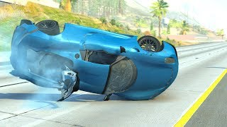Out Of Control Crashes #5 - BeamNG Drive