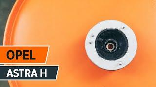 OPEL ASTRA H (L48) Polttoainesuodatin asennus diesel: ilmainen video
