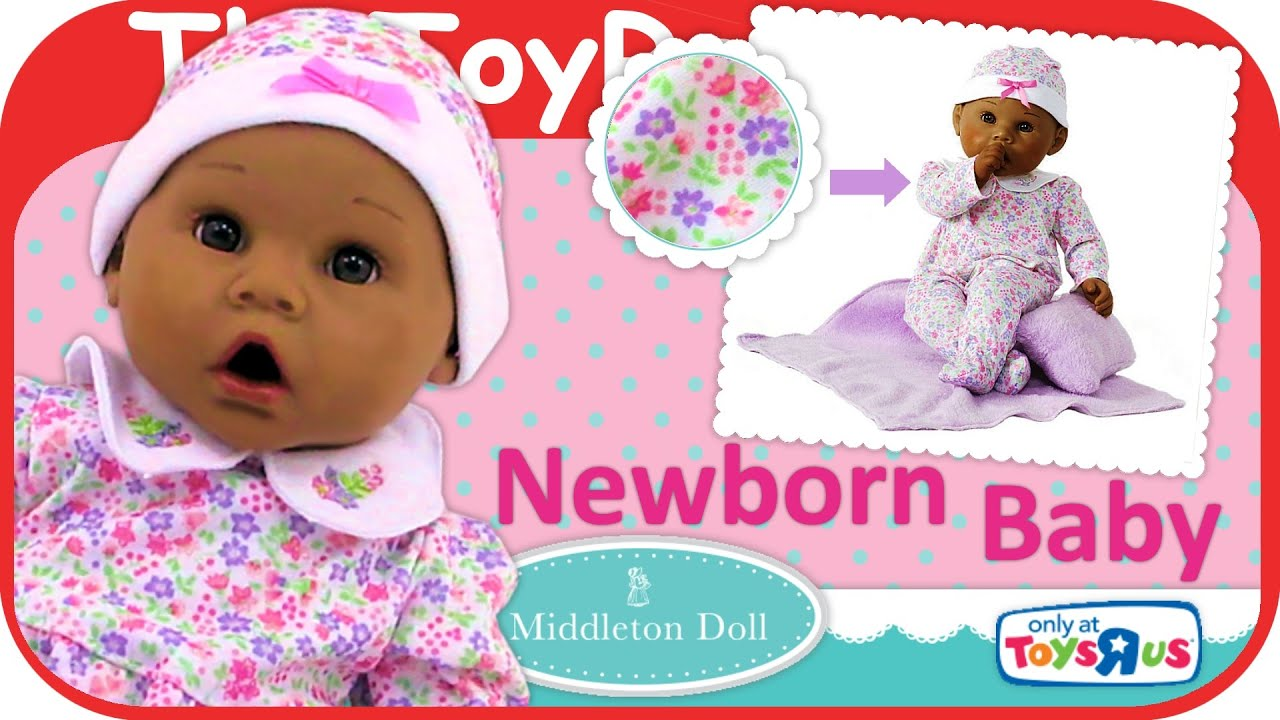Madame Alexander Newborn Baby Middleton Baby Doll Lavender Unboxing