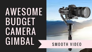 Moza AirCross Review - Nearly Perfect Lightweight Mirrorless or DSLR Gimbal