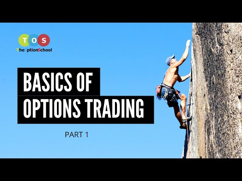Basics of Options Trading - Part -1 by The Option School