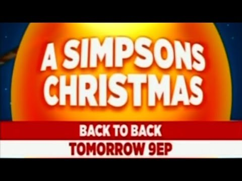 The Comedy Network (2010) - A Simpsons Christmas Promo