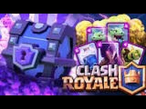 Chest opening on a super private server | Clash royale [RO]