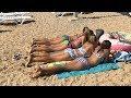 Широчайший песчаный пляж Крыма - в Орловке
