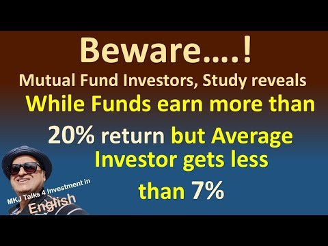 As per a Research Average Investors get far less than what mutual funds deliver- Know why
