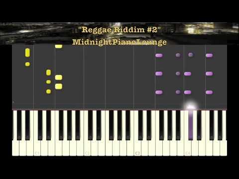 Piano reggae piano chords : ♫ Reggae Riddim #2 Piano Tutorial In F Minor ♫ - YouTube