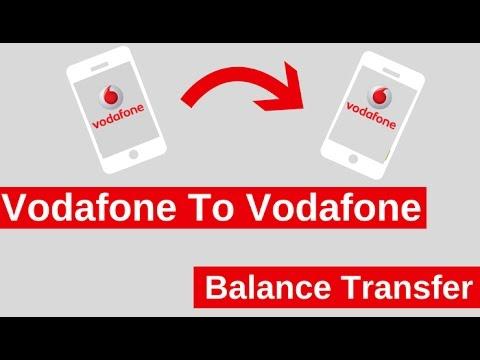 Vodafone Guthaben Transfer