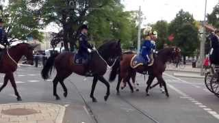 In Sweden... Royal welcome to Portuguese Prime Minister in Stockholm! Priceless Sight - 2.