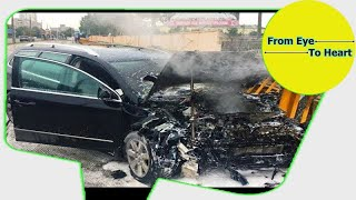 Car Crash) very Shock dash camera 2018 NEW By Top Speed Motor HD (1228) HD