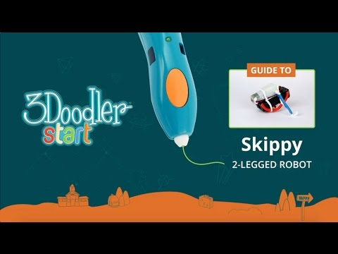 3Doodler Start Robotics Activity Kit How To: Skippy 2-Legged Robot