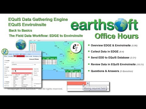 Back to Basics - The Field Data Workflow - EDGE to EnviroInsite - Mar 2018