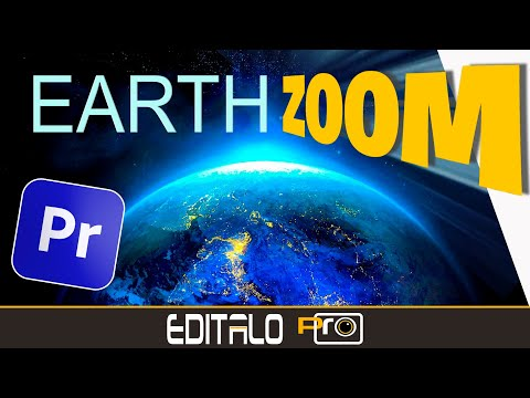 🌍 Cómo realizar el efecto Earth Zoom - Transición Zoom Terrestre