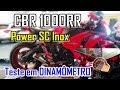 CBR 1000RR - Power Exhaust +  DINAMÔMETRO