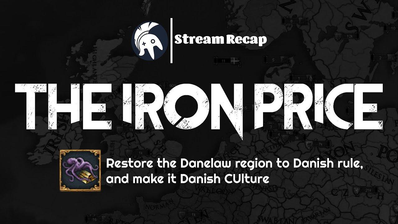 StreamCaps - EU4 The Iron Price Achievement | Denmark - Thủ