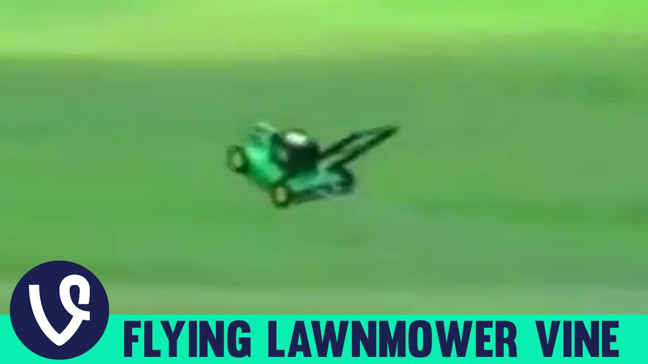 lawnmower flying to music vine compilation top vines of 2015