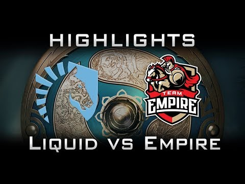 Liquid vs Empire TI7 Elimination Highlights The International 2017 Dota 2