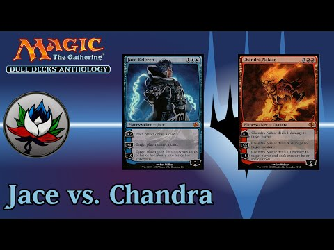 Duel Decks: Anthology – Jace vs. Chandra Deck Tech and Review!