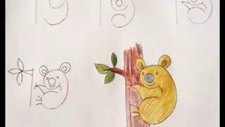 ToP 3 Way To Draw - Fun with Numbers - Drawing for kids