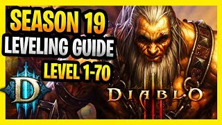 Diablo 3 Season 19  Starter Guide 1-70 Fast and Easy Guide D3 Season 19 Leveling Guide