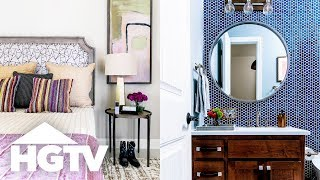 Hgtv Smart Home 2019   Tour The Guest Rooms
