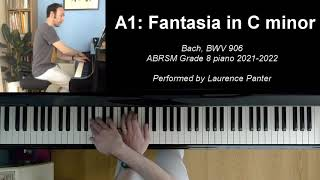 A:1 Fantasia in C minor (ABRSM Grade 8 piano 2021-2022)