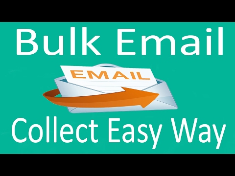 How to collect Mass Email address Easy Way 2017
