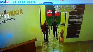 Новое видео с тигром в хабаровском торговом центре