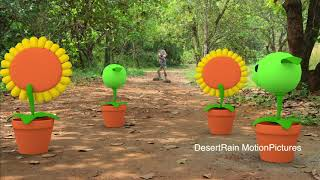 Plant Vs Zombies In Real Life [VFX]