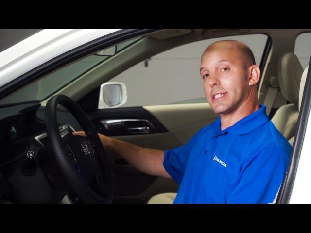 2017 Honda Accord Tips & Tricks: Apple CarPlay