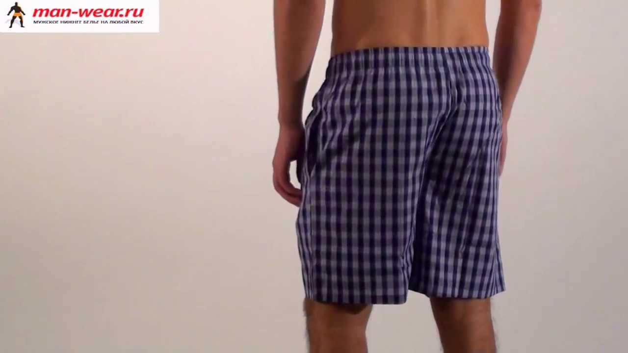 Выкройка мужских шорт на резинке